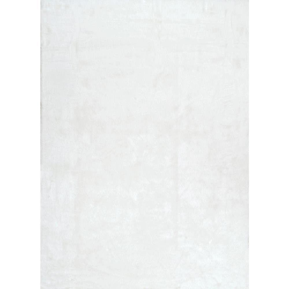 nuLOOM Tapis Hirsute Cloud Ivoire 5 ft. x 7 ft.
