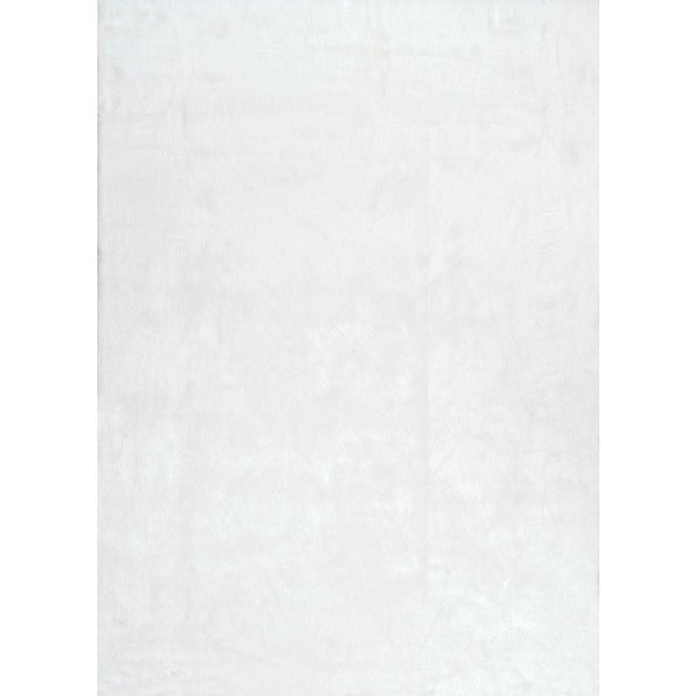nuLOOM Cloud Shag Ivory 4 ft. x 6 ft. Indoor Area Rug