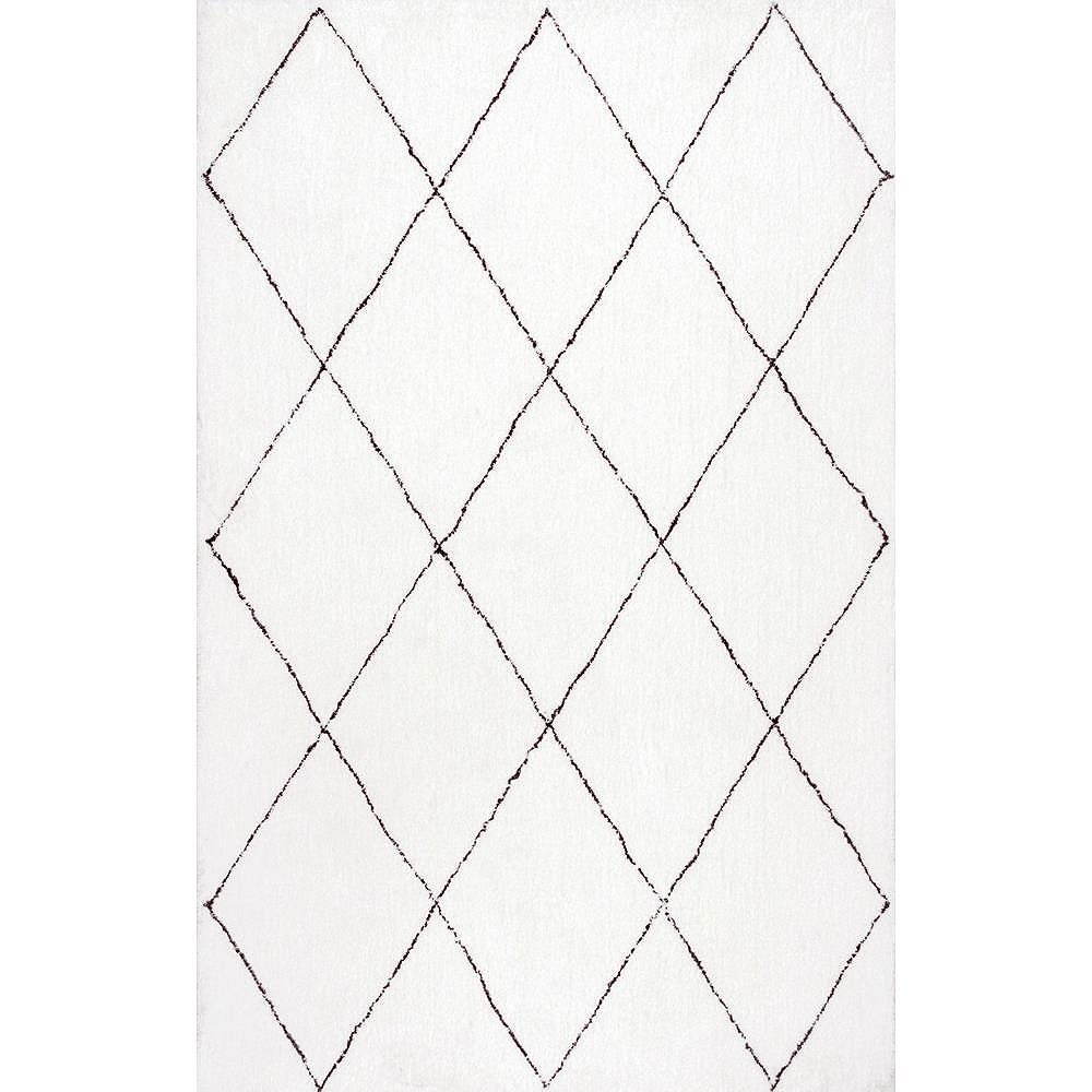nuLOOM Hand Tufted Armitra Natural 4 ft. x 6 ft. Indoor Area Rug
