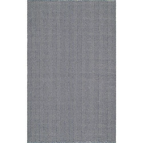 nuLOOM Hand Loomed Kimberely Navy 6 ft. x 9 ft. Indoor Area Rug