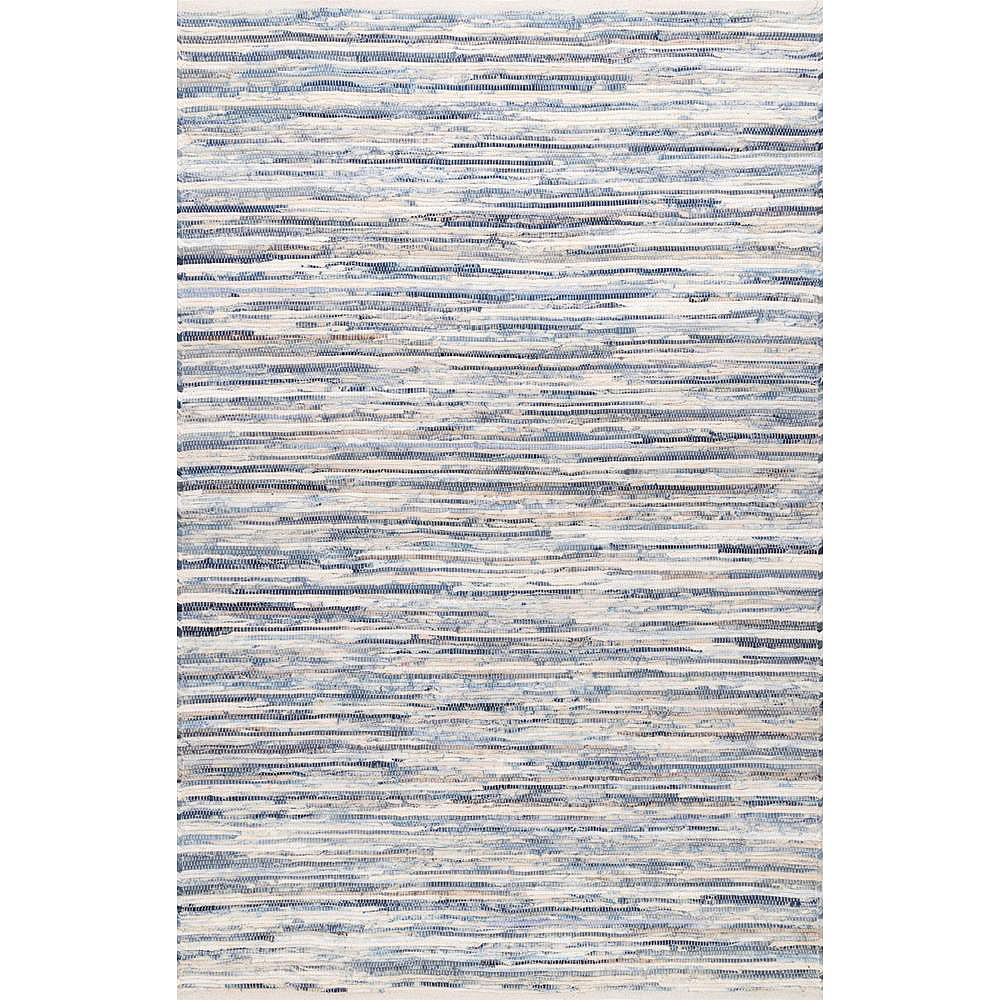 nuLOOM Tapis Maile Bleu 8 ft. 6 in. x 11 ft. 6 in.
