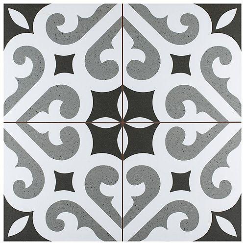 Merola Tile Thornbury 17-5/8-inch x 17-5/8-inch Ceramic Floor and Wall Tile (11.02 sq. ft. / case)