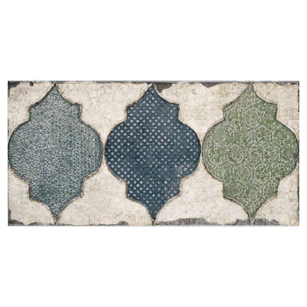 Merola Tile Essenza Fenice 5-7/8-inch x 11-7/8-inch Ceramic Wall Tile (11.17 sq. ft. / case)