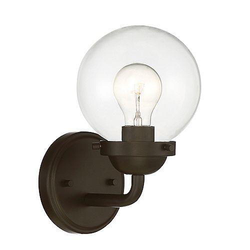 Designers Fountain Applique à 1 ampoule, fini bronze huilé