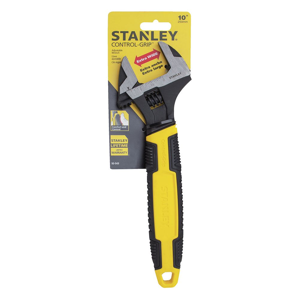 STANLEY 10-INCH ADJUSTABLE WRENCH