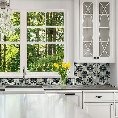 Merola Tile Livorno Decor Vechio 7-7/8-inch x 7-7/8-inch Ceramic Wall Tile (11.29 sq. ft. / case)
