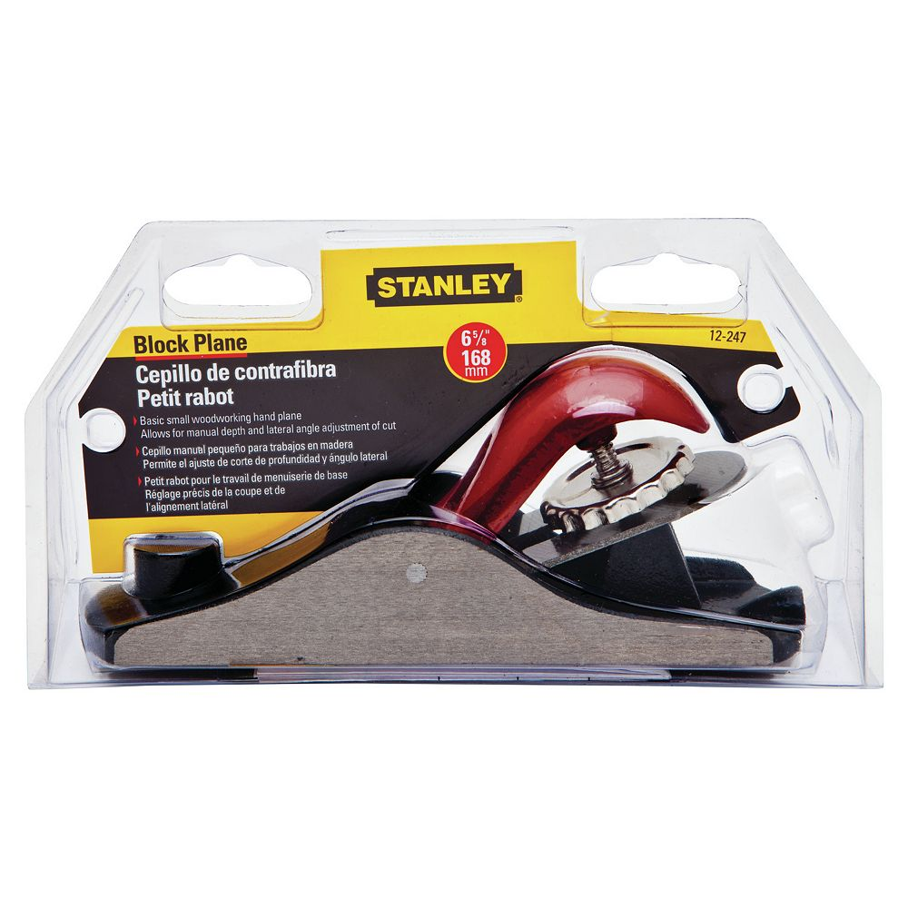STANLEY 6 5/8-INCH ADJUSTABLE BLOCK PLANE