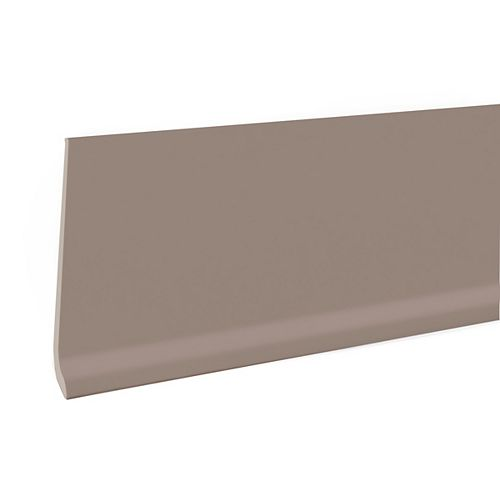 4-inch Rubber Wall Base - 100 ft. - Sable