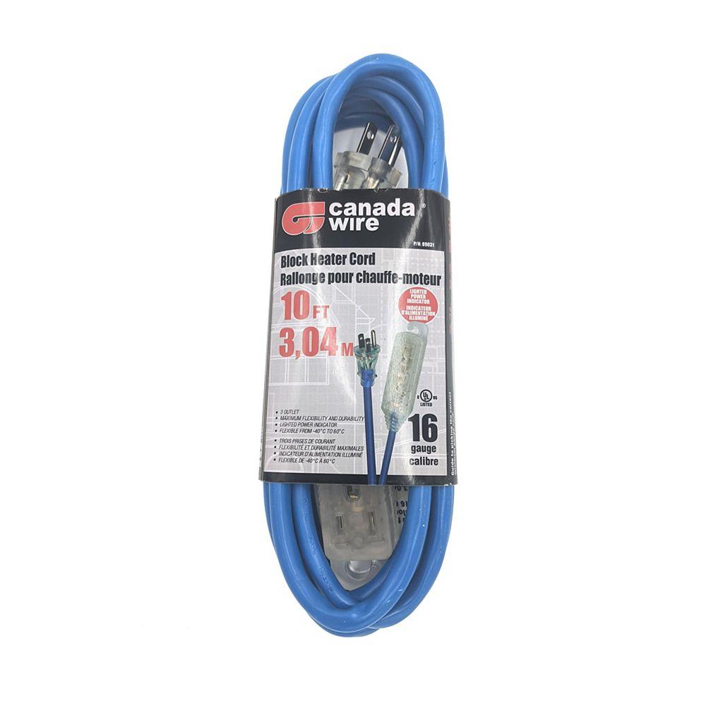 Canada Wire block heater cord