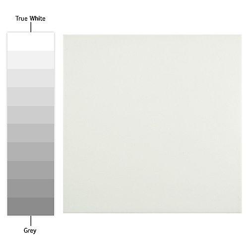 Merola Tile Jaen Basic White 9-3/4-inch x 9-3/4-inch Porcelain Floor and Wall Tile (11.11 sq. ft. / case)