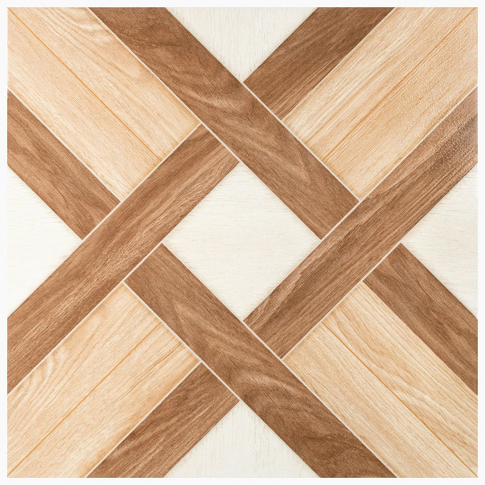 Merola Tile Michigan Natural 17-3/4-inch x 17-3/4-inch Ceramic Floor and Wall Tile (22.5 sq. ft./case)