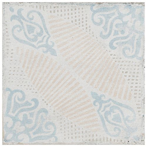 Merola Tile Barcelona Decor Guell 6-inch x 6-inch Porcelain Floor and Wall Tile (10.77 sq. ft. / case)