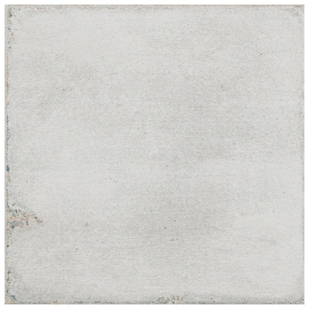 Merola Tile Barcelona White 6-inch x 6-inch Porcelain Floor and Wall Tile (10.77 sq. ft. / case)