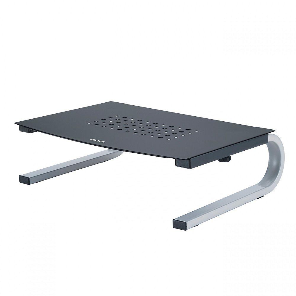 """Allsop Redmond Monitor Stand with 14"""" Wide Platform - Black"""
