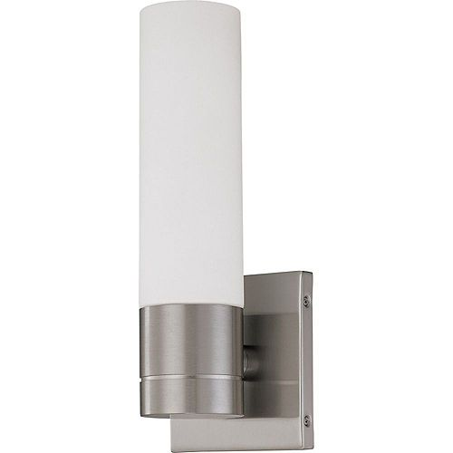 Filament Design 1-Light Brushed Nickel Wall Sconce - 11.5 inch