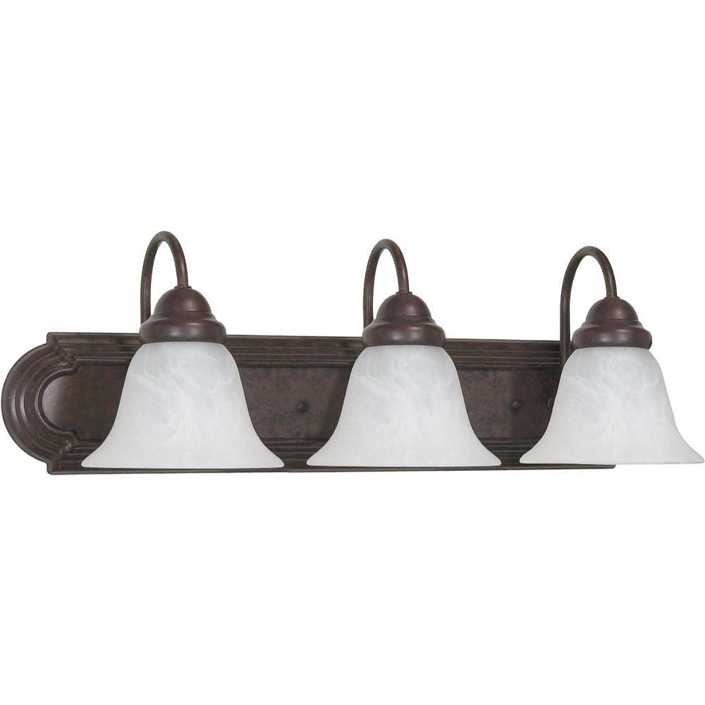 Filament Design 3-Light Old Bronze Bath Vanity Light - 24 inch
