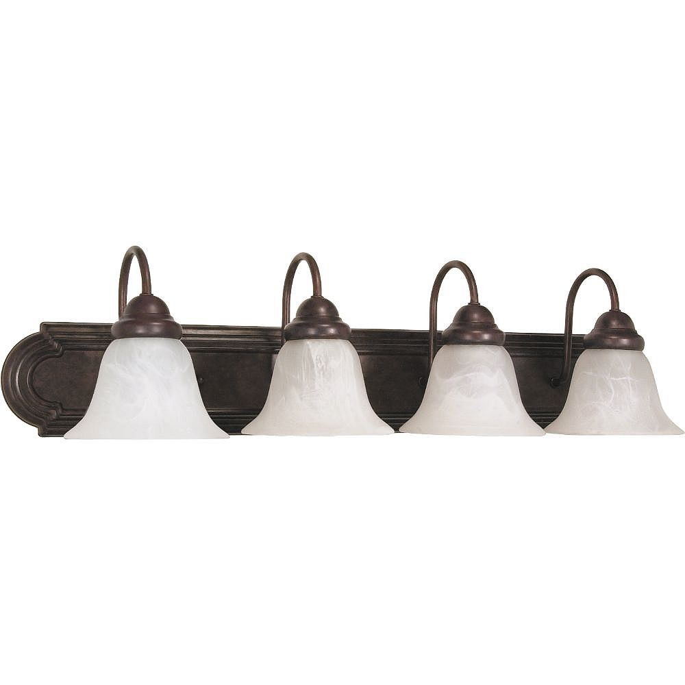 Filament Design 4-Light Old Bronze Bath Vanity Light - 30 inch