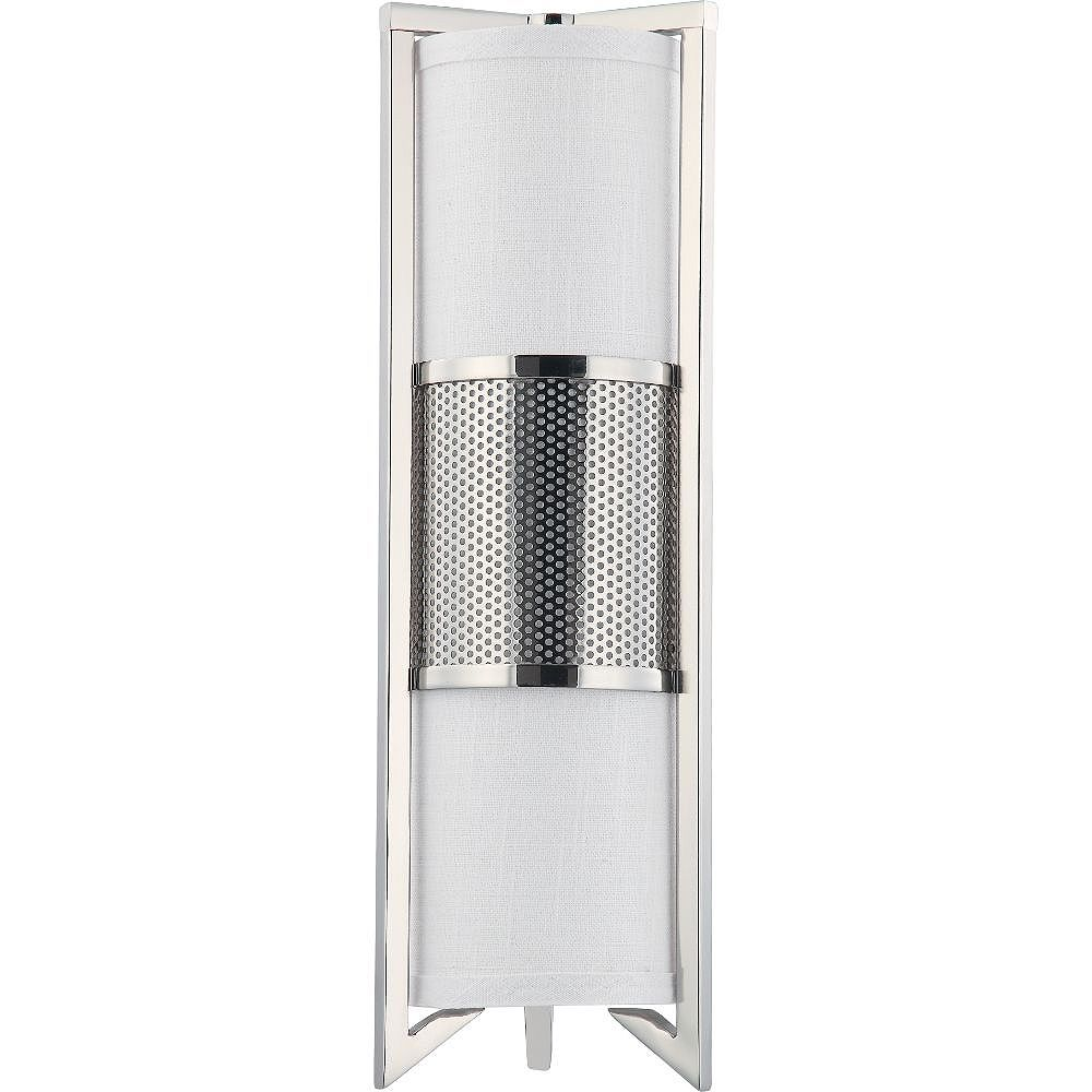Filament Design 3-Light Polished Nickel Wall Sconce - 6 inch