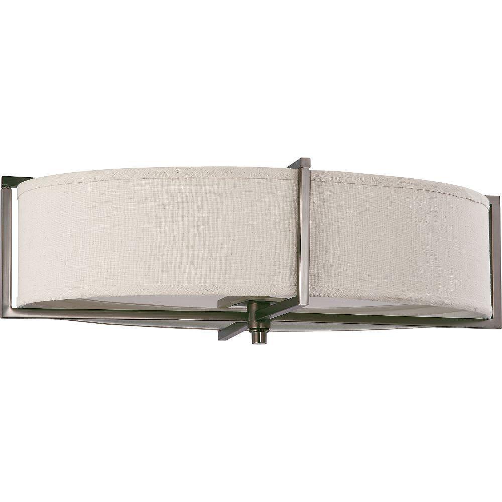 Filament Design Plafonnier à 6 ampoules au fini bronze noisette