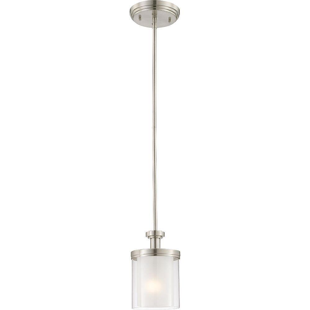Filament Design 1-Light Brushed Nickel Pendant - 34.75 inch