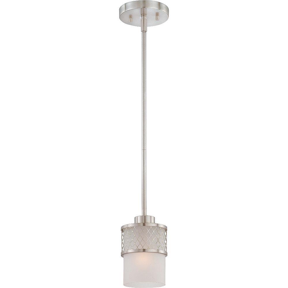 Filament Design 1-Light Brushed Nickel Pendant - 45.75 inch