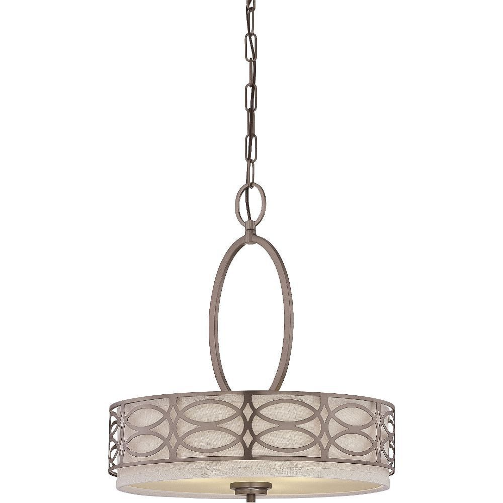 Filament Design 3-Light Hazel Bronze Pendant