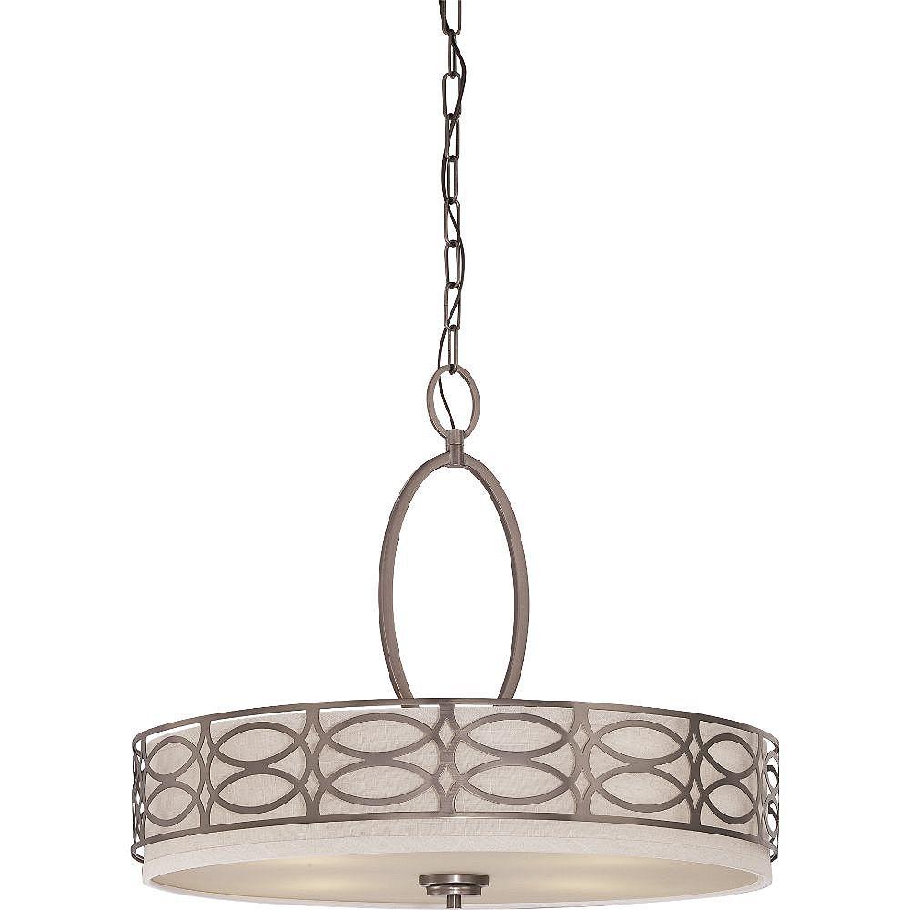 Filament Design 4-Light Hazel Bronze Pendant - 20 inch