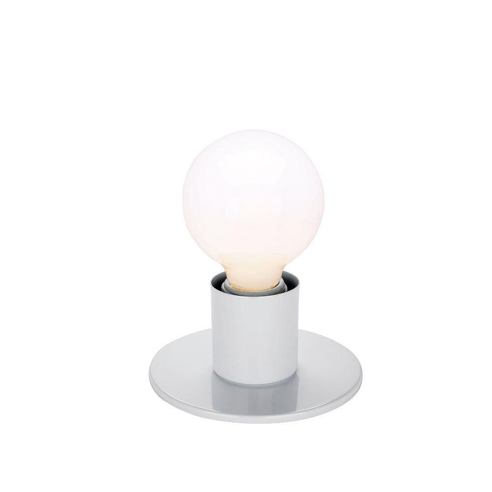 Filament Design 1-Light White Wall Light