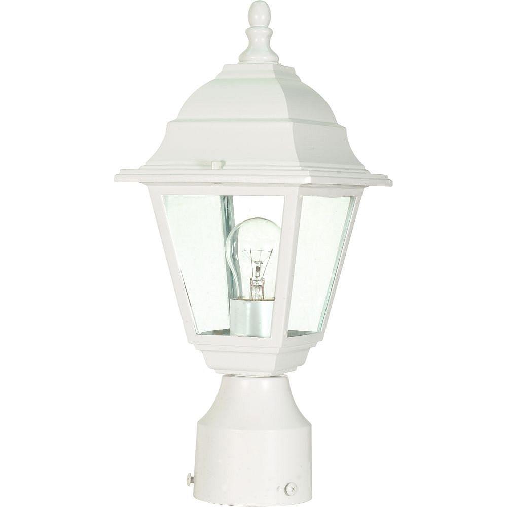 Filament Design Lanterne d'extérieur blanche à 1 ampoule - 6 pouces