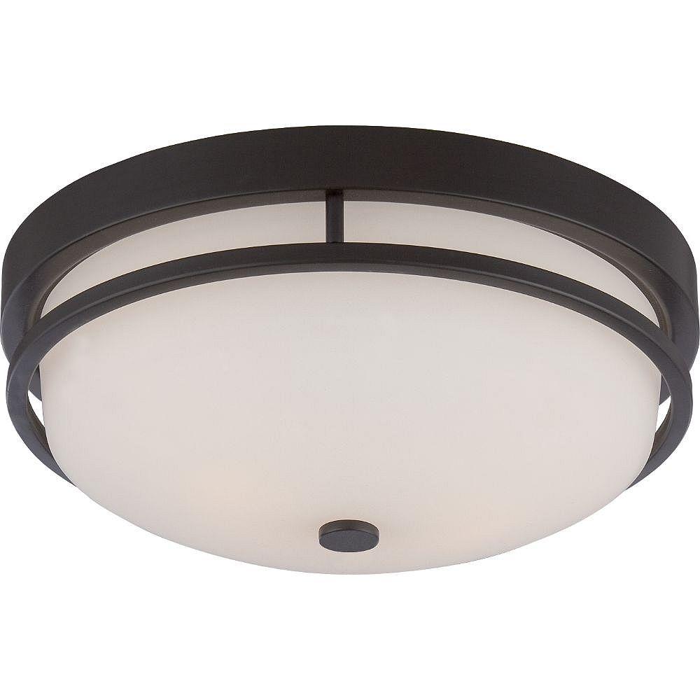 Filament Design Plafonnier à 2 ampoules Sudbury en bronze - 5,25 pouces