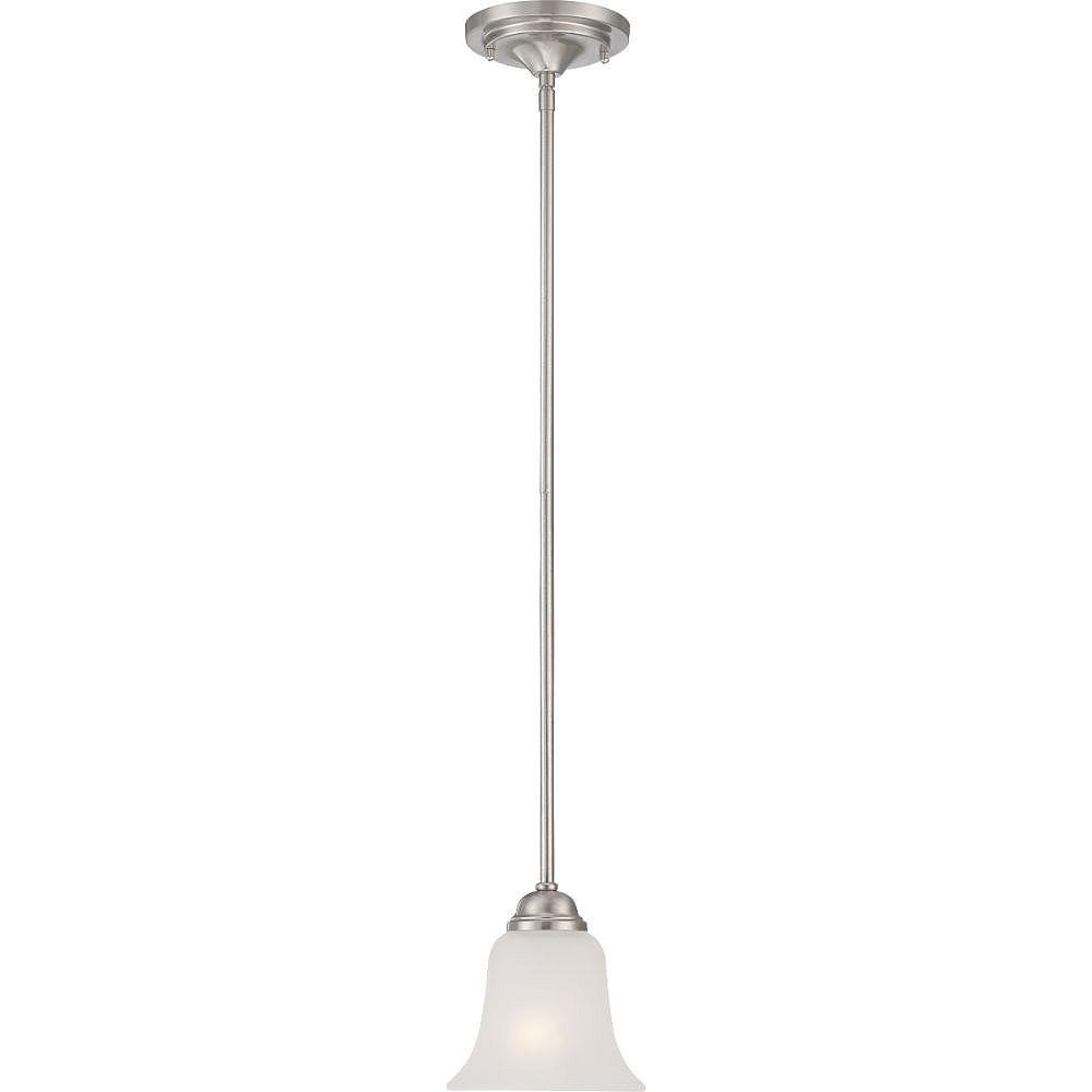 Filament Design 1-Light Brushed Nickel Pendant - 6 inch