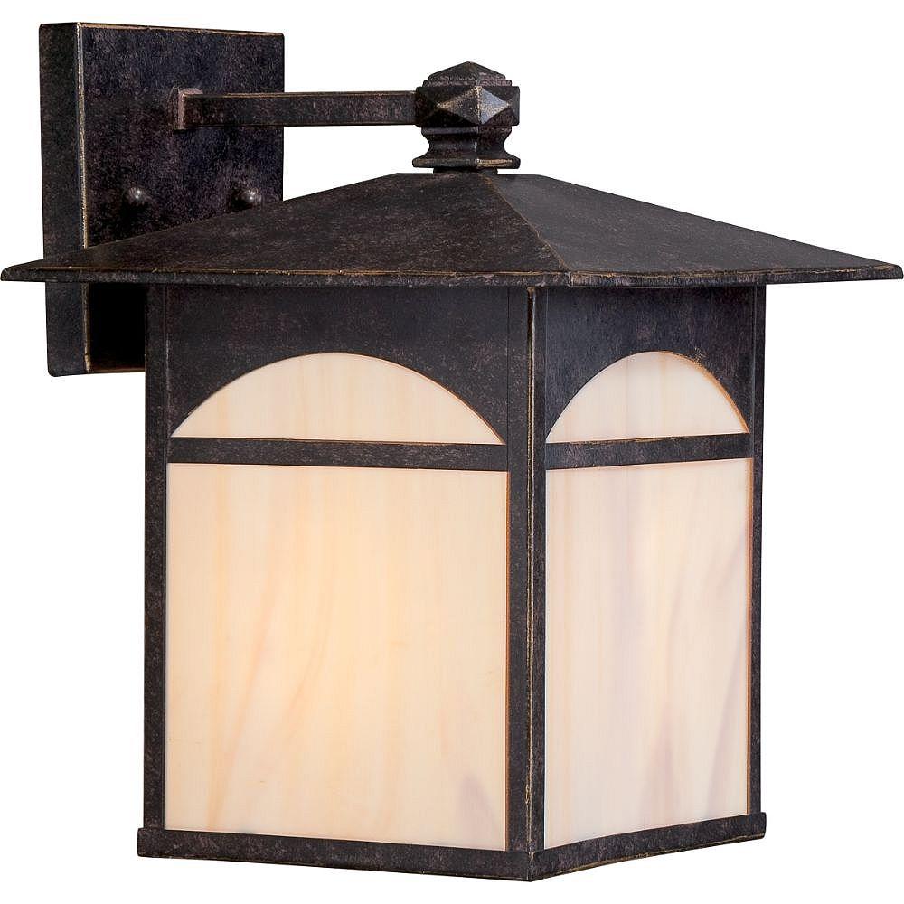 Filament Design 1-Light Umber Bronze Outdoor Wall Light - 11.5 inch