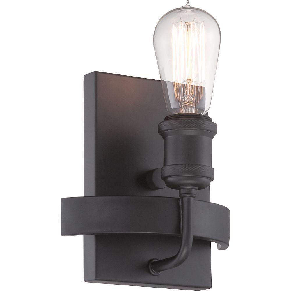Filament Design Applique murale à 1 ampoule en bronze vieilli - 9,38 pouces