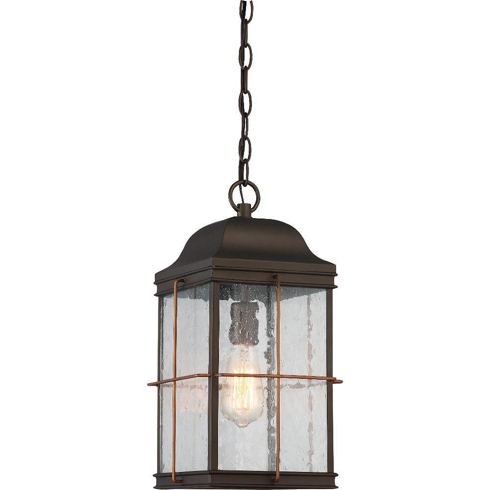 Filament Design Lanterne suspendue d'extérieur bronze et cuivre à 1 ampoule