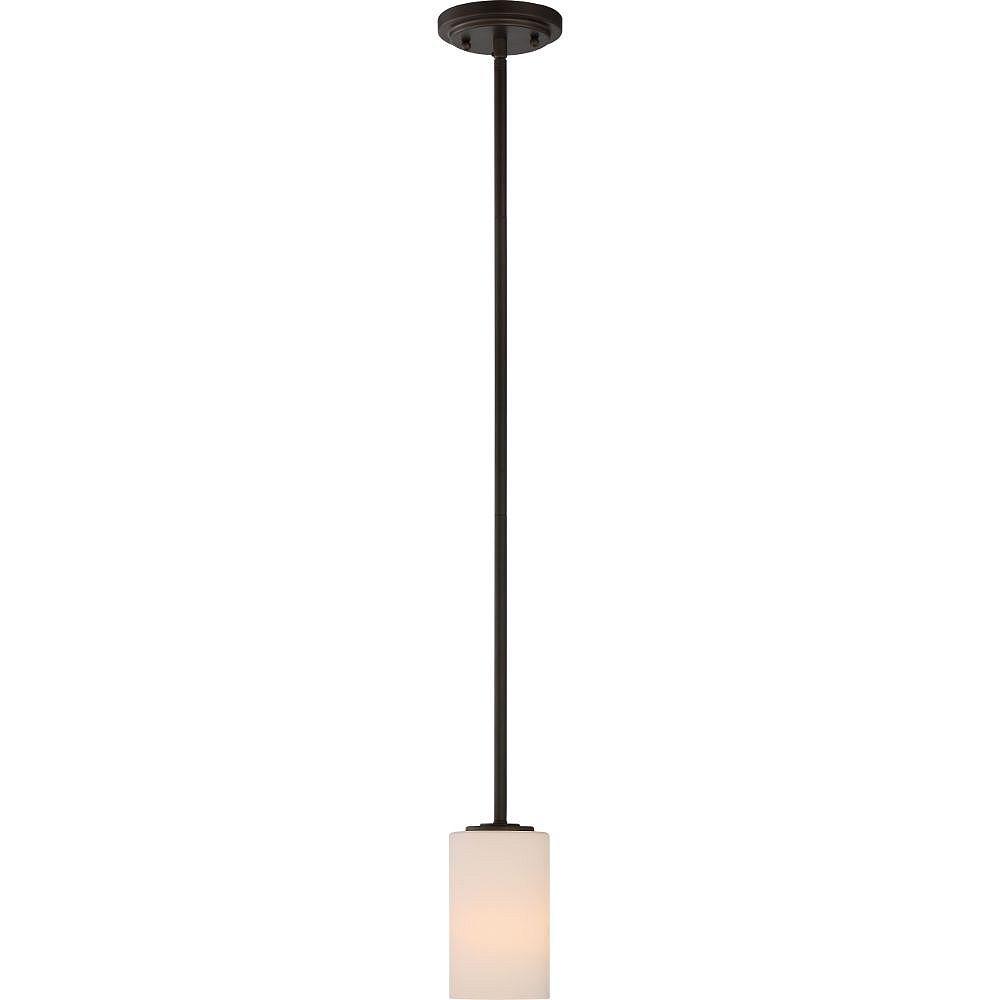 Filament Design Luminaire suspendu à 1 ampoule bronze forestier - 3,88 pouces