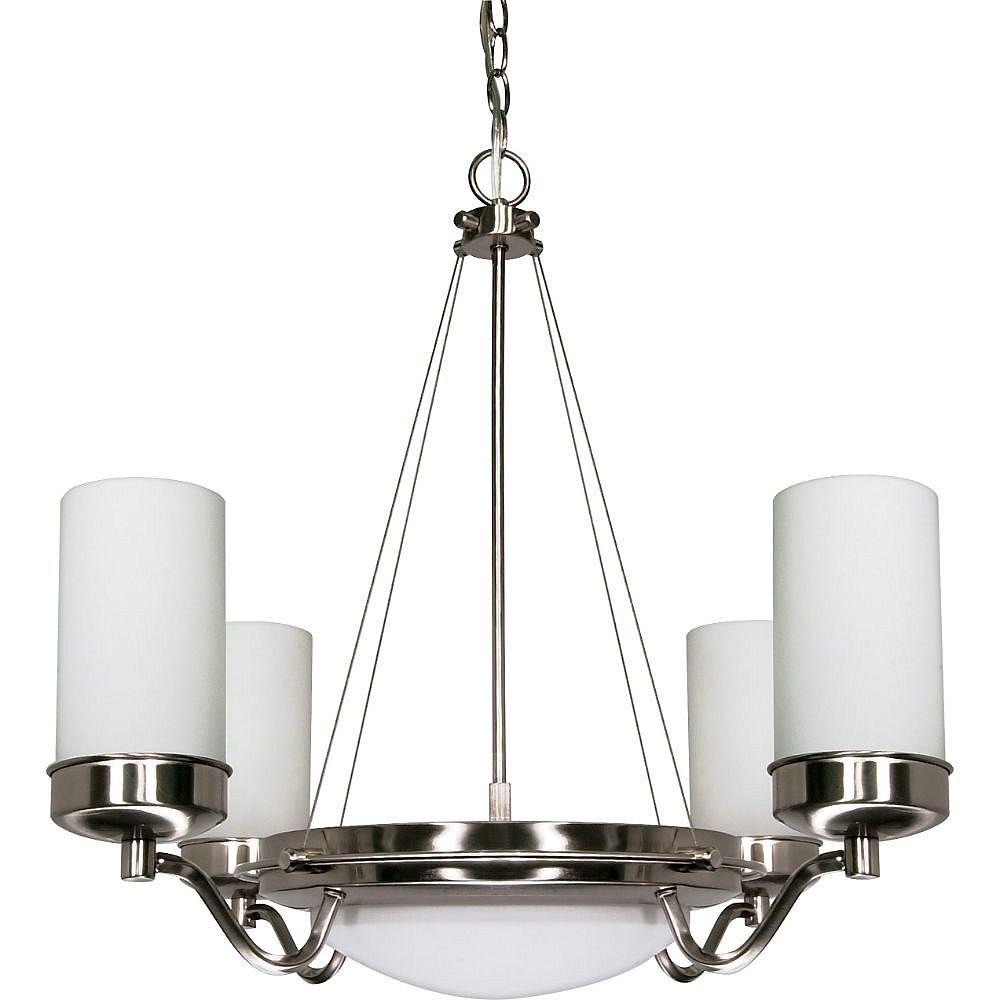 Filament Design 6-Light Brushed Nickel Chandelier - 30 inch