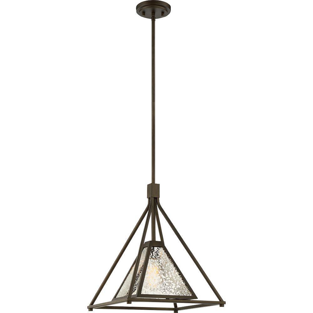 Filament Design Luminaire suspendu à 1 ampoule bronze forestier - 17,38 pouces