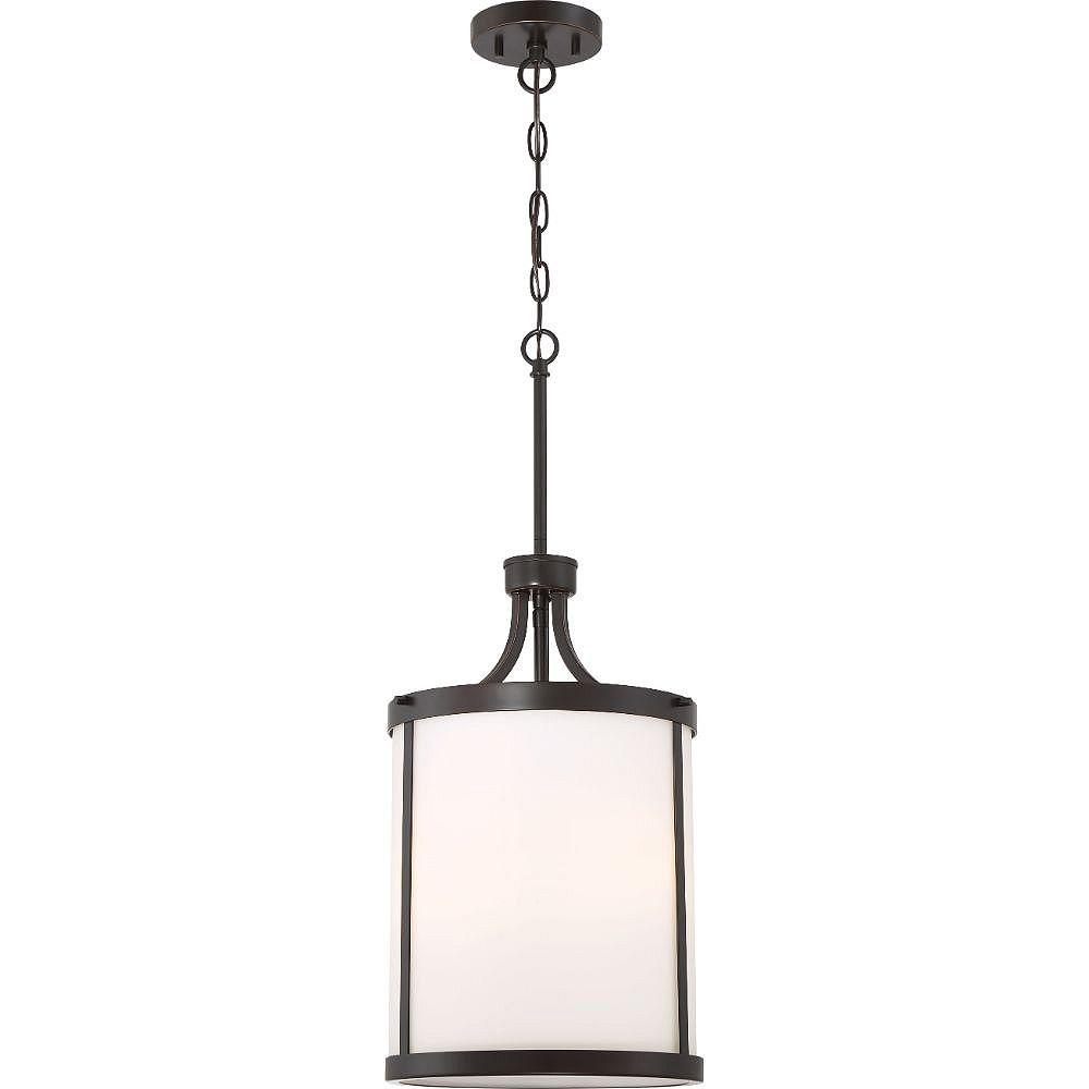 Filament Design Luminaire suspendu à 3 ampoules en bronze acajou - 11,63 pouces
