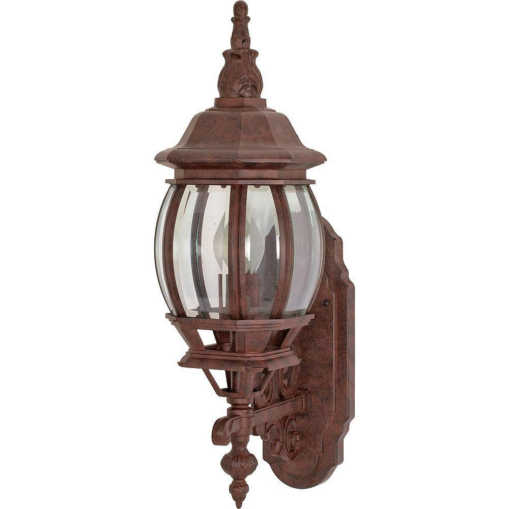 Filament Design 1-Light Old Bronze Outdoor Wall Light - 20 inch