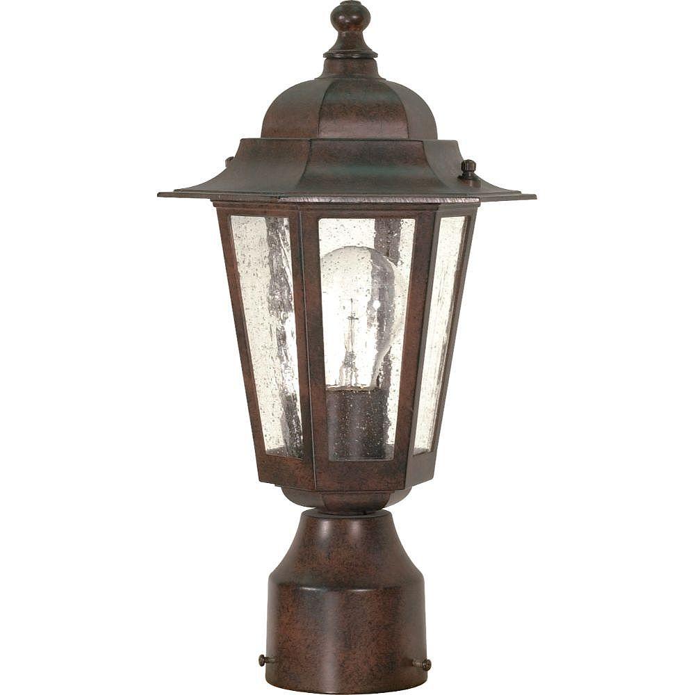 Filament Design Lanterne d'extérieur à 1 ampoule bronze antique - 7 pouces
