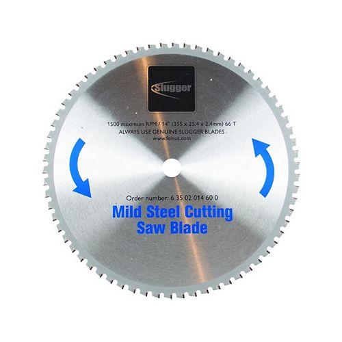Lame de scie pour metal 14 po. - Acier doux MCBL14
