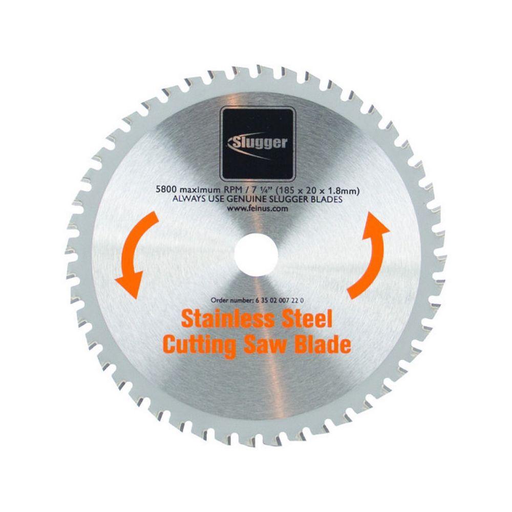 FEIN Lame de scie à métal pour acier inoxydable, 7 1/4 po, 48 dents