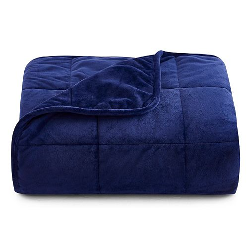15 lbs. Crystal Mink to Mink Weighted Blanket
