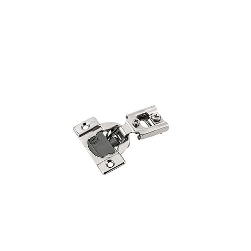 (Pack of 2) +105° RFF Series - Compact Hinge , Screw-On, 1/2 in Overlay, Soft-Close