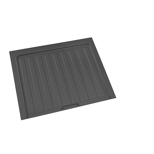 28 1/2 in (724 mm) Under sink cabinet protection tray - Orion gray color