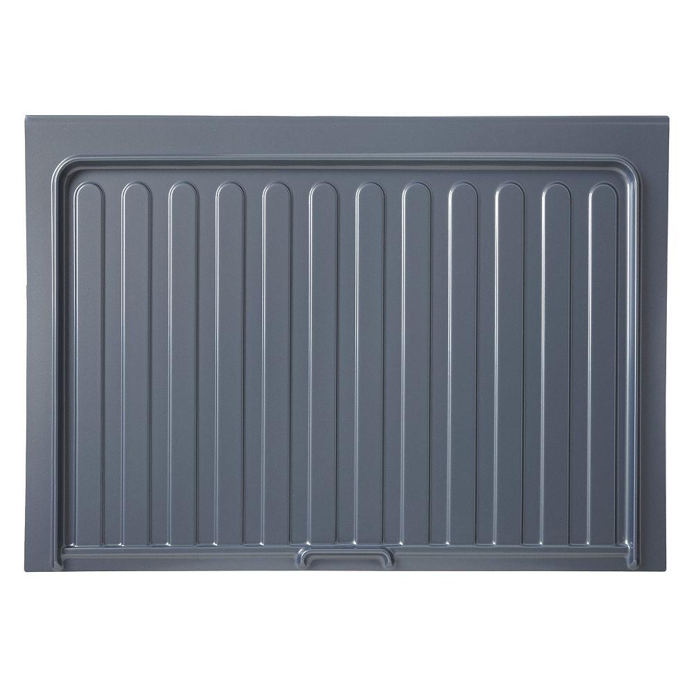 Rev-A-Shelf 28 1/2 po (724 mm) Tapis de protection pour armoire de cuisine sous-évier - Couleur gris argent