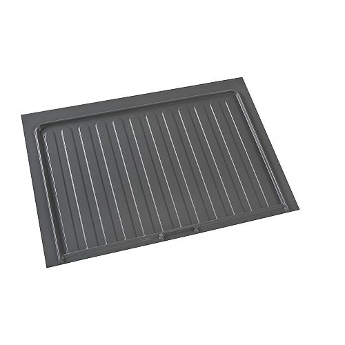 34 1/2 in (876 mm) Under sink cabinet protection tray - Orion gray color