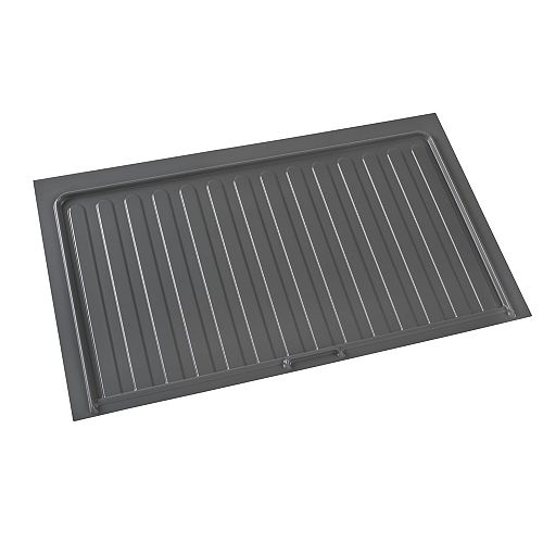 40 1/2 in (1028 mm) Under sink cabinet protection tray - Orion gray color