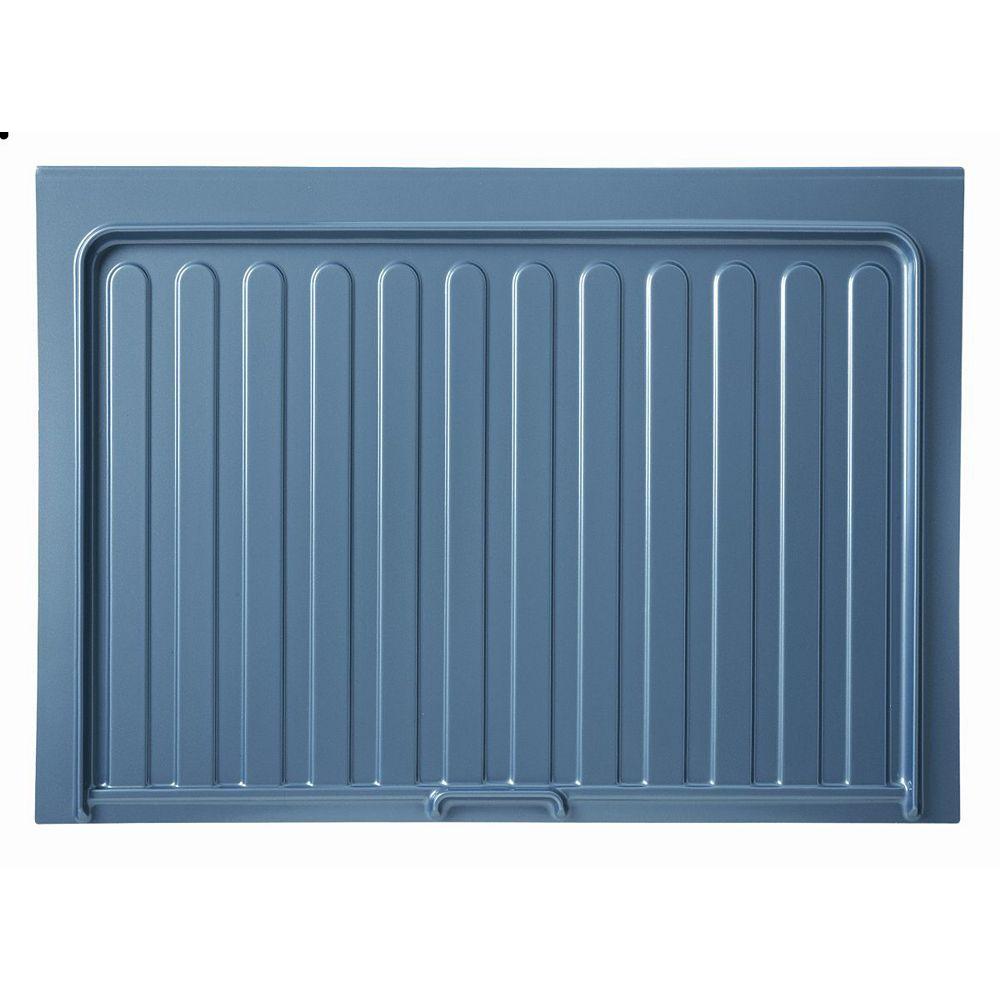 Rev-A-Shelf 40 1/2 po (1028 mm) Tapis de protection pour armoire de cuisine sous-évier - Couleur gris argent