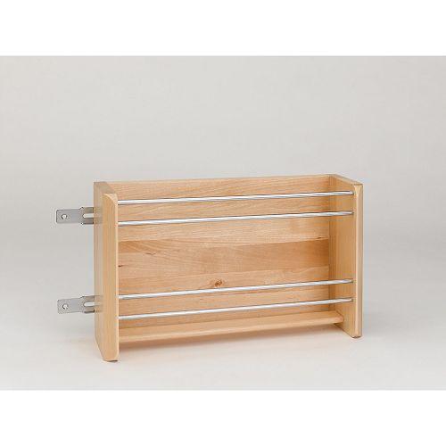 16 1/8 in (410 mm) Door Mount Foil Rack-Maple